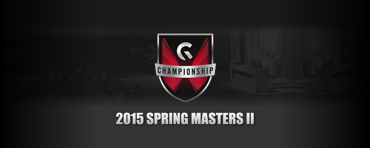 Gfinity 2015 Spring Masters 2