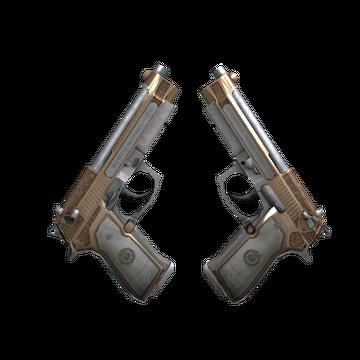 StatTrak™ Dual Berettas | Cartel