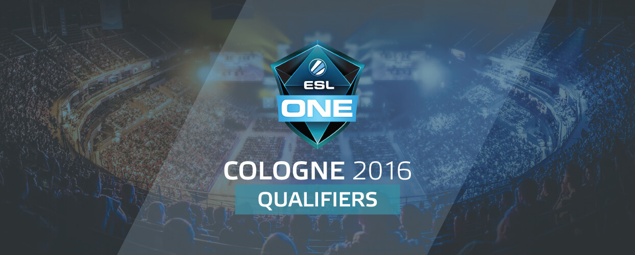 ESL One Cologne Main Qualifiers