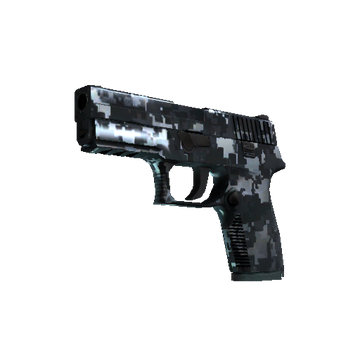 StatTrak™ P250 | Steel Disruption