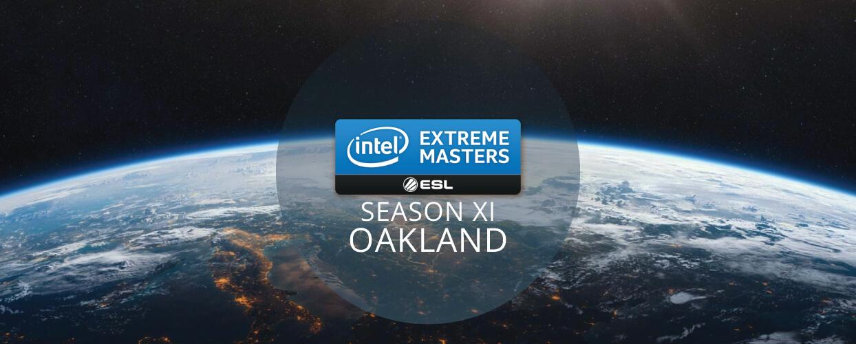 Intel Extreme Masters XI - Oakland