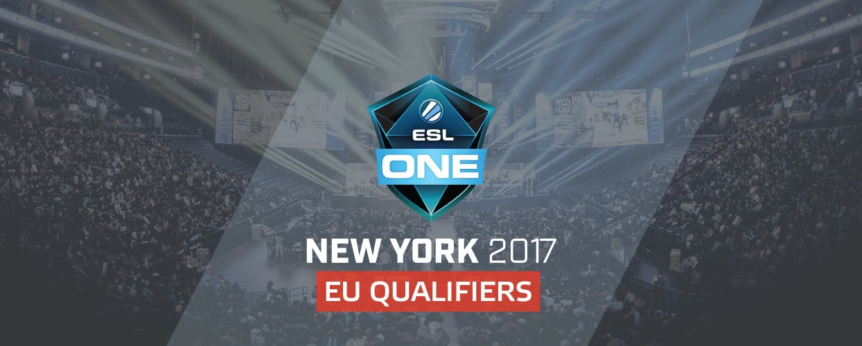 ESL One: New York 2017 - EU Qualifier